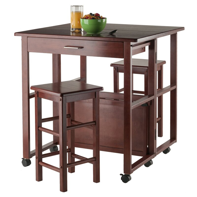 Crownover 3 Piece Bar Table Set Within Crownover 3 Piece Bar Table Sets (View 3 of 25)
