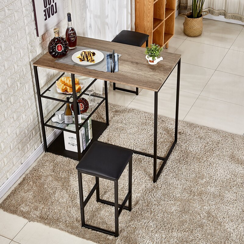 Home Design Ideas (@thehomedesign) | Twitter Intended For Crownover 3 Piece Bar Table Sets (View 19 of 25)