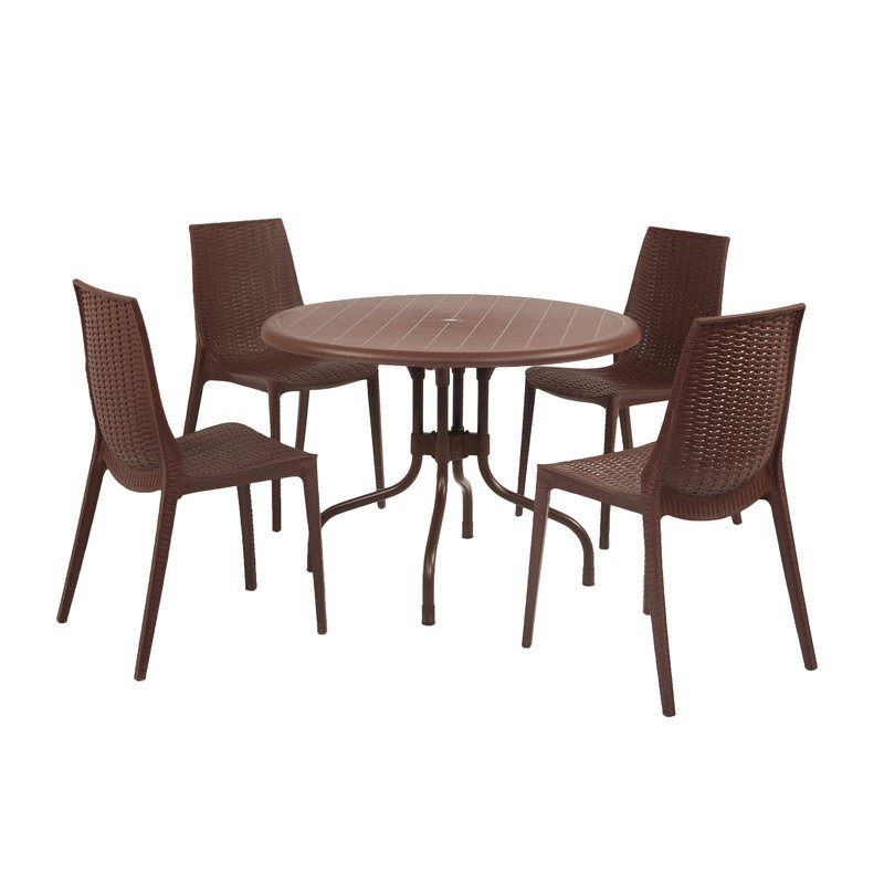 Home Design Ideas (@thehomedesign) | Twitter intended for Miskell 3 Piece Dining Sets