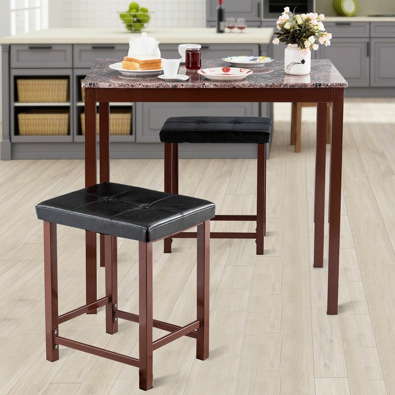 Miskell 3 Piece Dining Set For Miskell 3 Piece Dining Sets (View 2 of 25)