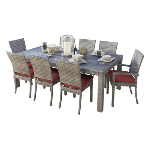 Plastic Patio Dining Sets | Joss & Main pertaining to Miskell 3 Piece Dining Sets