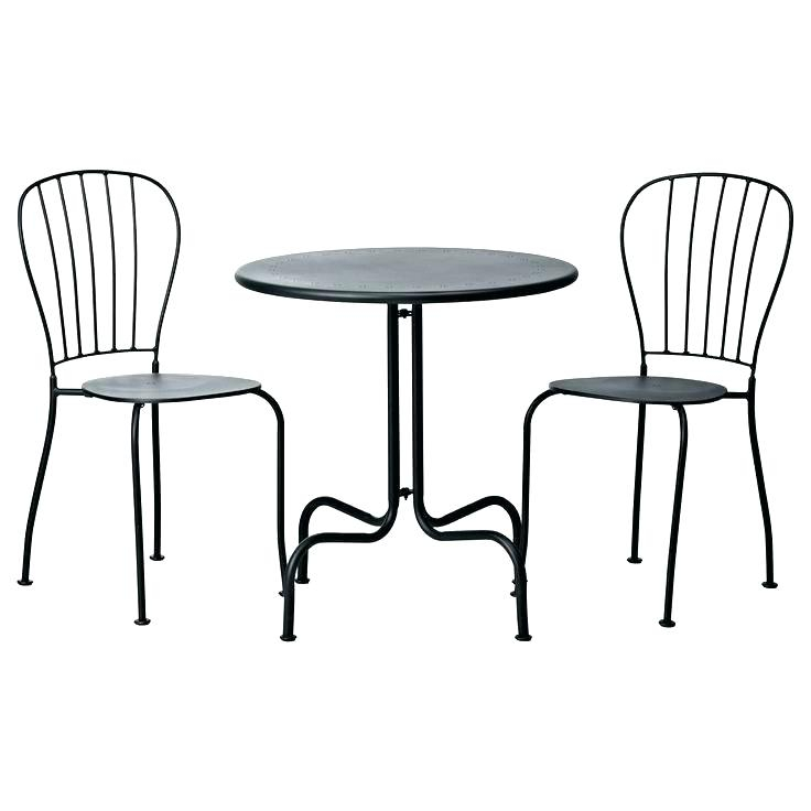 Small Bistro Table And Chair Set Impressive Indoor Best Intended For Winsome 3 Piece Counter Height Dining Sets (View 23 of 25)