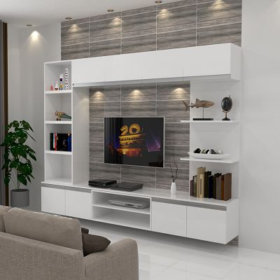 10 Modelos De Panel De Tv Para Tu Sala De Estar 2021 For 2018 Modern Design Tv Cabinets (View 1 of 15)