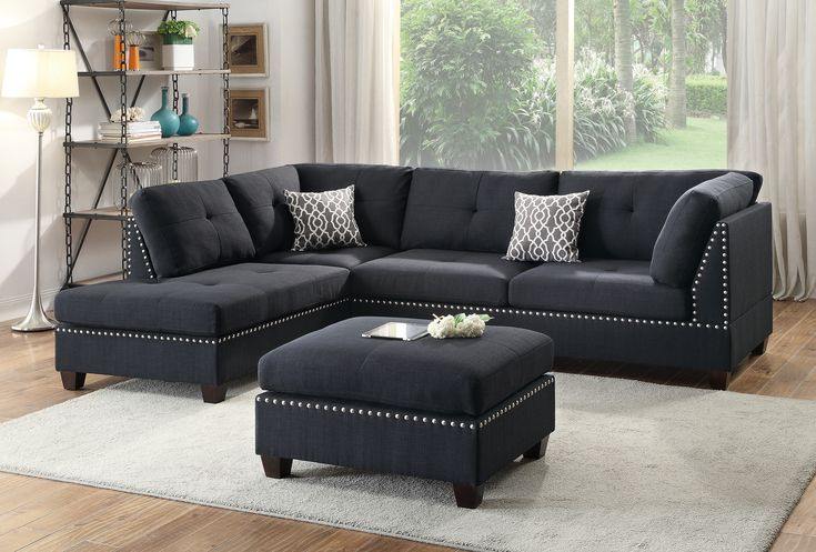 13 Photos Of 3 Piece Sectional Sofa Microfiber With In Copenhagen Reversible Small Space Sectional Sofas With Storage (View 5 of 15)