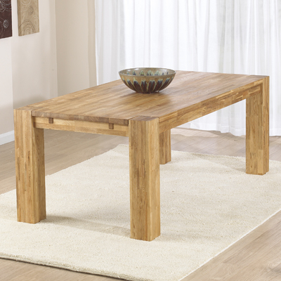 2017 Bromley Oak Tv Stands Inside Montana Solid Oak 200Cm Dining Table With 6 Bromley Chairs (View 6 of 15)