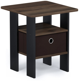 2017 Furinno Jaya Large Tv Stands With Storage Bin Regarding Pin On The Cheap Nightstands (View 9 of 15)