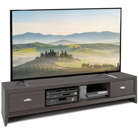 2017 Harbor Wide Tv Stands Regarding Corliving Lakewood Extra Wide Tv Stand, For Tvs Up To  (View 6 of 15)