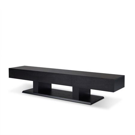 """2017 Kasen Tv Stands For Tvs Up To 60"""" In Acme Follian Black Tv Stand For Up To 60"""" Flat Screen Tv (View 15 of 15)"""