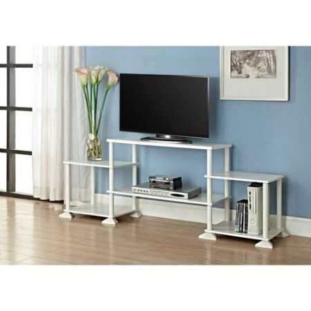 2017 Mainstays 3 Door Tv Stands Console In Multiple Colors With Mainstays No Tool Assembly 3 Cube Entertainment Center For (View 11 of 15)