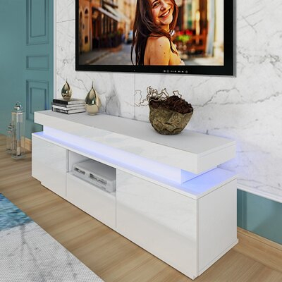"""2017 Mathew Tv Stands For Tvs Up To 43"""" Pertaining To Ivy Bronx Guthfrith Tv Stand For Tvs Up To 43"""" (View 3 of 15)"""