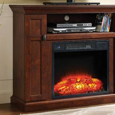 """2017 Neilsen Tv Stands For Tvs Up To 50"""" With Fireplace Included Intended For Berkshire Solid Wood Tv Stand For Tvs Up To 65"""" With (View 2 of 15)"""