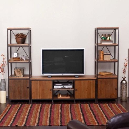 2017 Owen Retro Tv Unit Stands Regarding French Rustic Retro Tv Cabinet Wood Tv Cabinet Living Room (View 2 of 15)