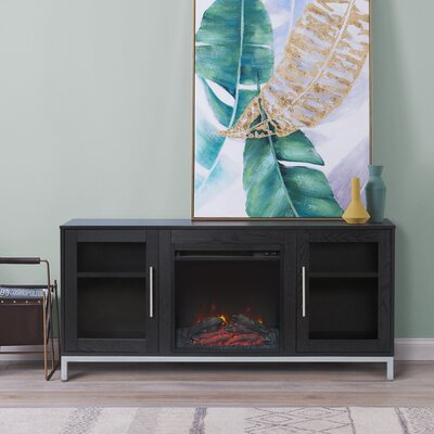 """2017 Rickard Tv Stands For Tvs Up To 65"""" With Fireplace Included Pertaining To Versanora Lainey Tv Stand For Tvs Up To 65"""" With Fireplace (View 7 of 15)"""