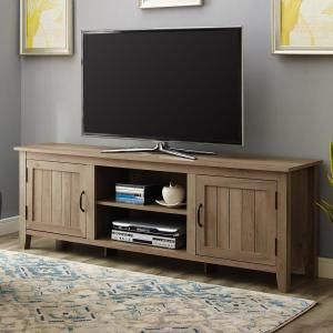 2017 Walker Edison Contemporary Tall Tv Stands Throughout Walker Edison 70 In (View 5 of 15)