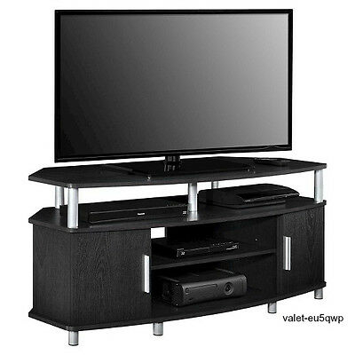 2018 Indi Wide Tv Stands With Regard To 50 Inch Tv Stand Home Entertainment Center System Espresso (View 5 of 15)