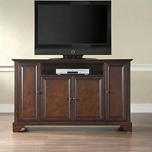 2018 Mahogany Tv Stands Within Crosley Furniturecrosley Furniture Lafayette 60 Inch Tv (View 12 of 15)