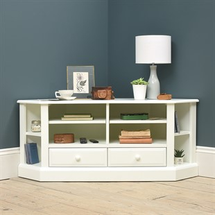 2018 Penelope Dove Grey Tv Stands In Corner Tv Stands & Tv Units – Stunning Oak, Pine & Painted (View 1 of 15)