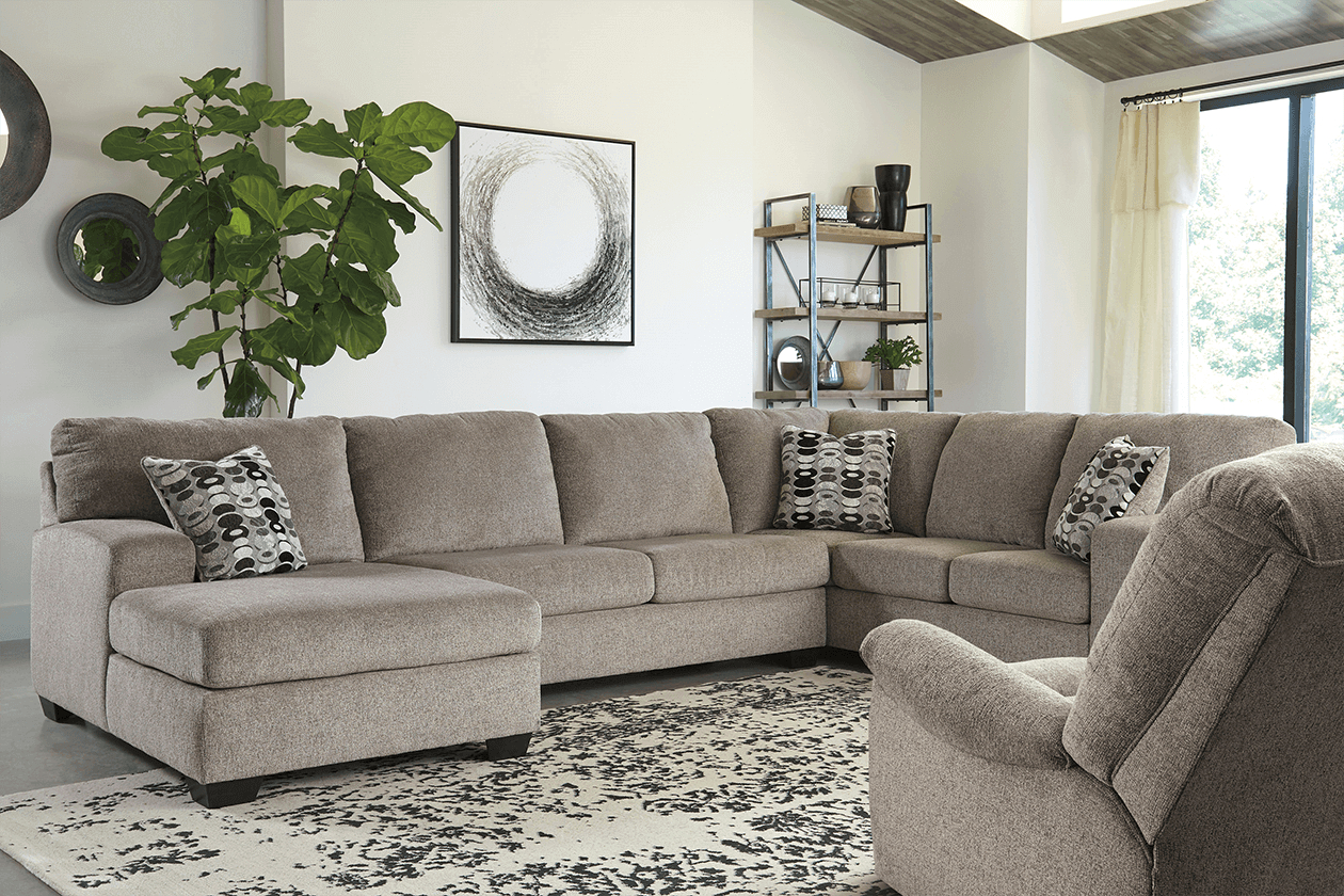 3 Piece Sectionals W/Laf Chaise – Demeyer Furniture Intended For Norfolk Grey 3 Piece Sectionals With Laf Chaise (View 7 of 15)