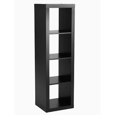 4 Cube Organizer Wood Storage Bookcase Shelves Tv Stand Intended For Most Recent Mainstays 4 Cube Tv Stands In Multiple Finishes (View 12 of 15)