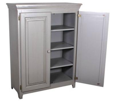 575 Pine 2 Door Jelly Cabinet (View 6 of 15)