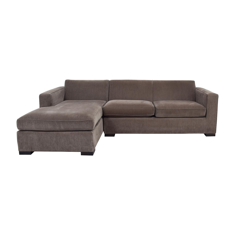 58% Off – Room & Board Room & Board Ian Grey Sectional / Sofas Within Room And Board Sectional Sofas (View 12 of 15)