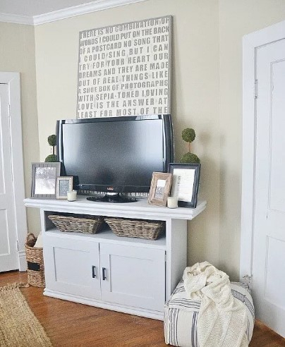 60 Best Diy Tv Stand Ideas For Your Room Interior Regarding Most Up To Date 57'' Tv Stands With Led Lights Modern Entertainment Center (View 9 of 15)