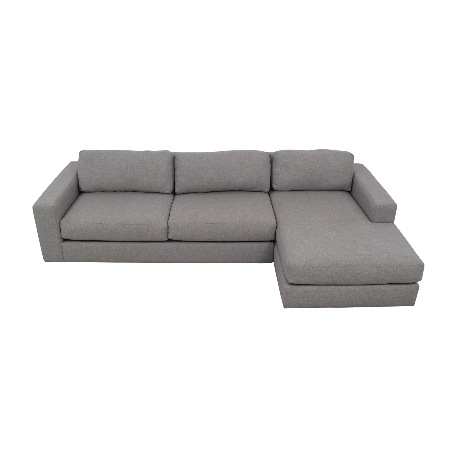 65% Off – West Elm West Elm Urban Chaise Sectional Sofa For West Elm Sectional Sofas (View 9 of 15)