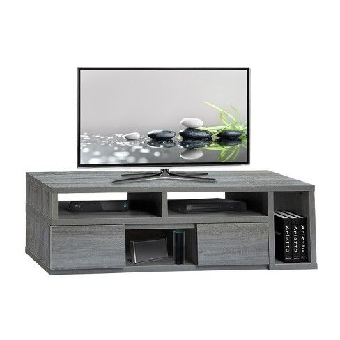 """65""""Adjustable Tv Stand Console Gray – Techni Mobili (View 7 of 15)"""