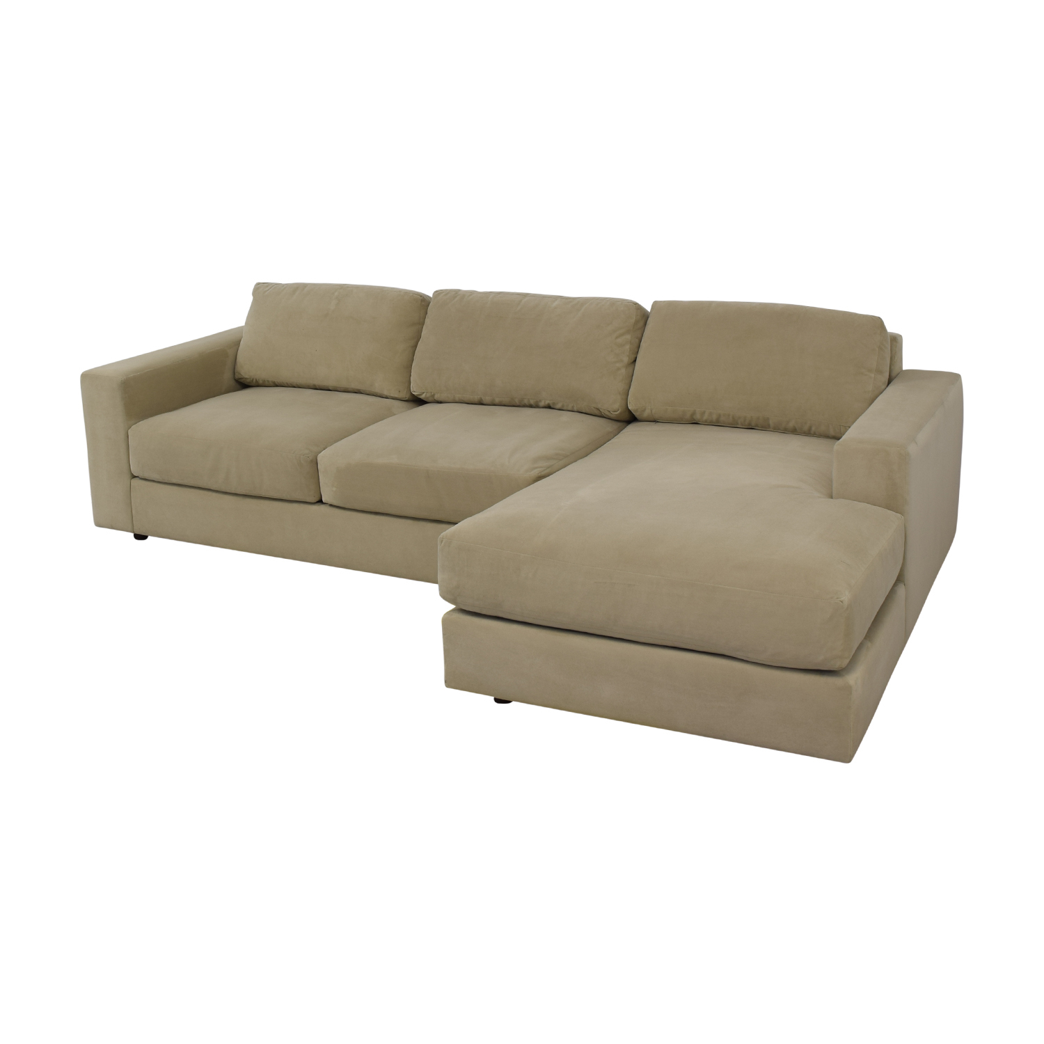 69% Off – West Elm West Elm Urban Chaise Sectional Sofa With Regard To West Elm Sectional Sofas (View 8 of 15)