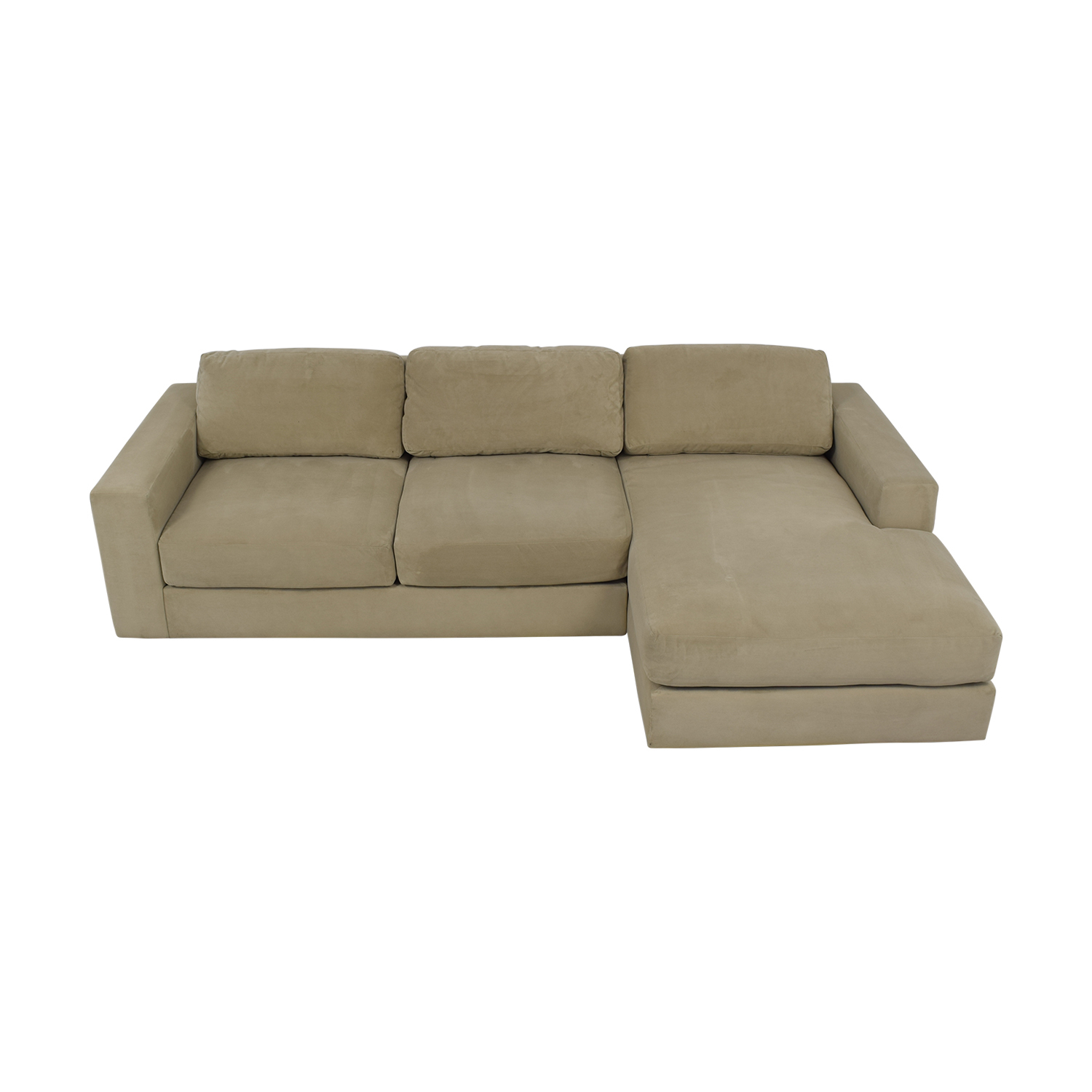 69% Off – West Elm West Elm Urban Chaise Sectional Sofa Within West Elm Sectional Sofas (View 10 of 15)