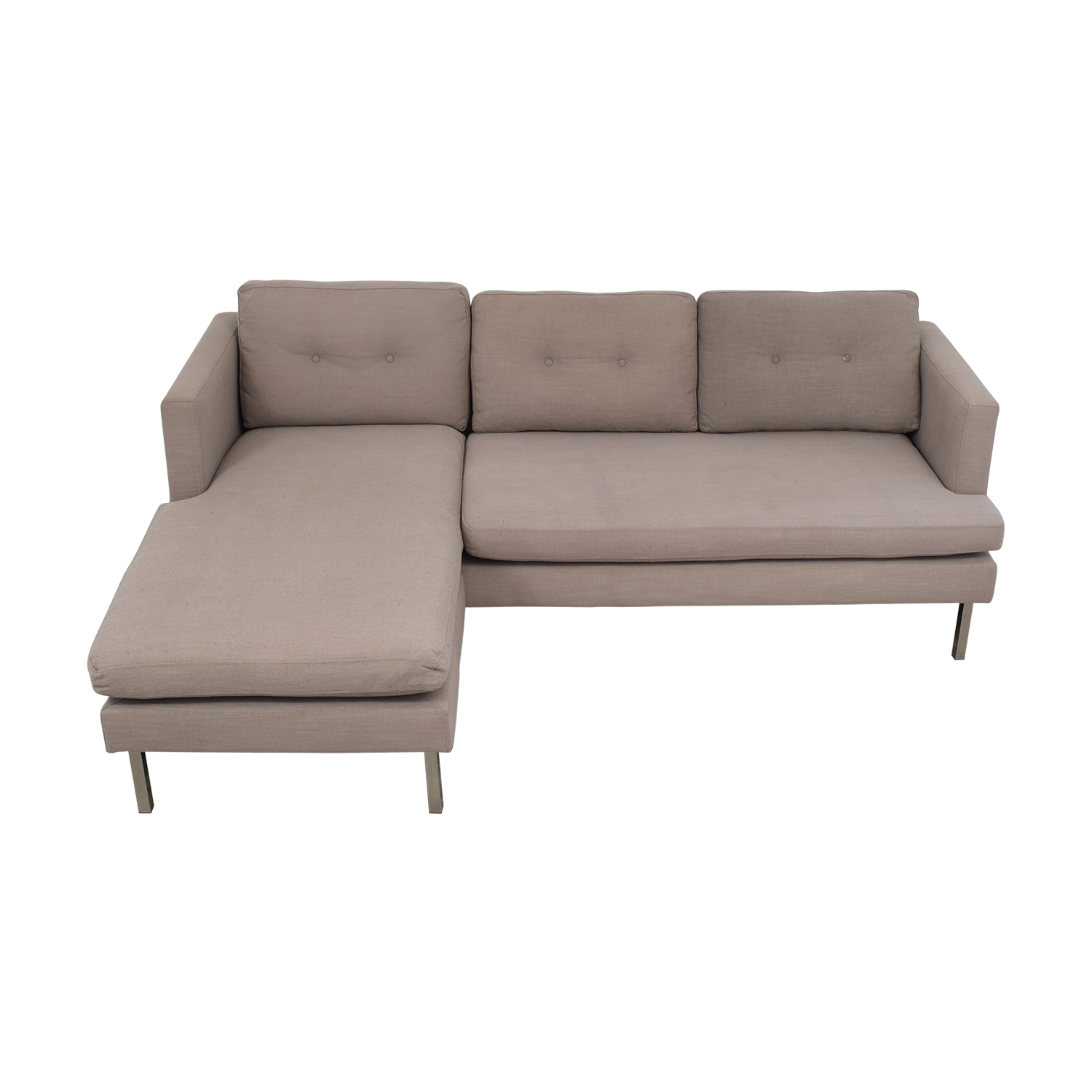 73% Off – West Elm West Elm Marco Two Piece Sectional Sofa Intended For West Elm Sectional Sofas (View 7 of 15)