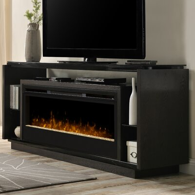 """75 Inch Fireplace Tv Stands & Entertainment Centers You'Ll With Regard To 2017 Griffing Solid Wood Tv Stands For Tvs Up To 85"""" (View 13 of 15)"""