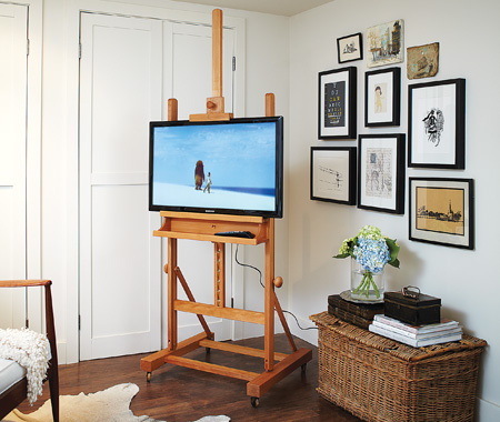 9 Cool Diy Tv Stands And Consoles To Make – Shelterness With Regard To Best And Newest Unique Tv Stands For Flat Screens (View 13 of 15)