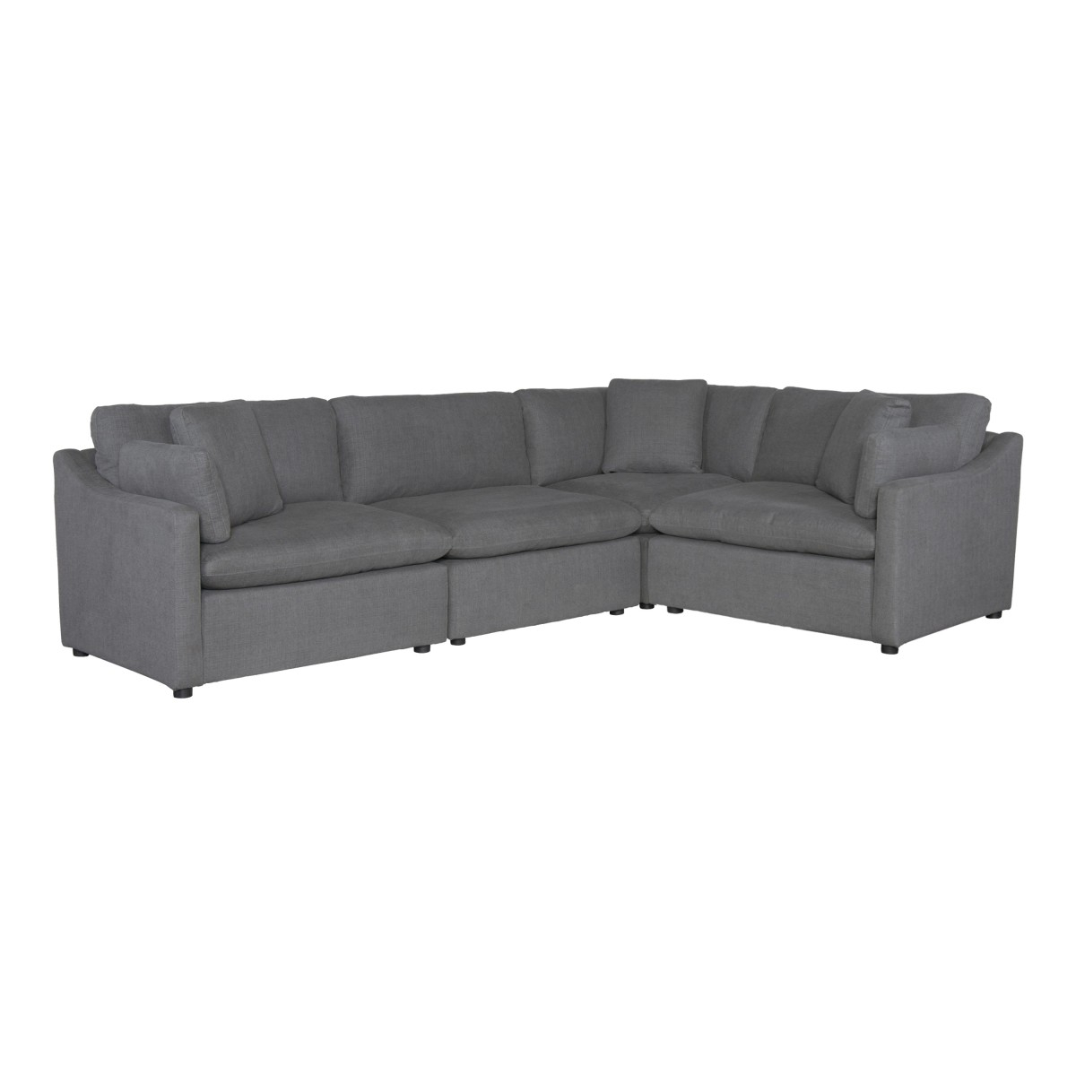 9544Gy*4Sc 4 Piece Modular Sectional For Benton 4 Piece Sectionals (View 10 of 15)