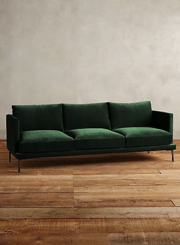 A Guide To Green Sofas: 20 Stylish Options   Apartment Therapy Pertaining To Green Sectional Sofas (View 6 of 15)
