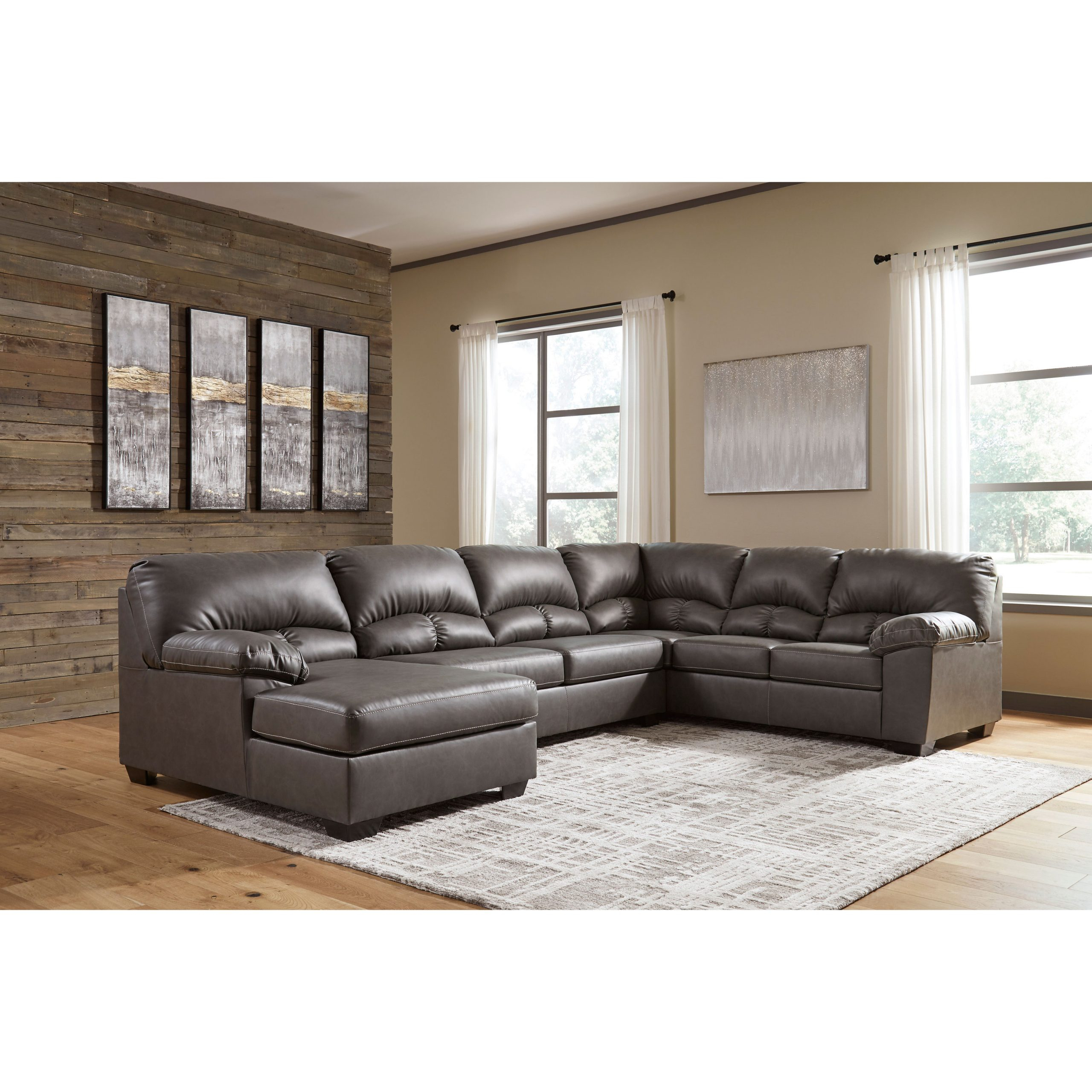 Aberton 3 Piece Laf Chaise Sectional | Furnishmyhome (View 5 of 15)
