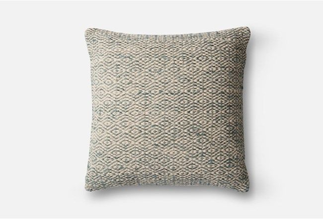 Accent Pillow Magnolia Home Diamond Grey 22X22Joanna With Magnolia Sectional Sofas With Pillows (View 10 of 15)