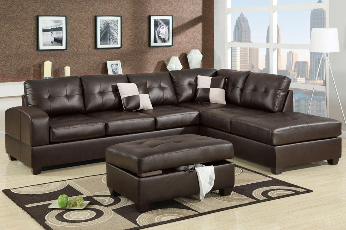 Admirable 2 Piece Sectional Sofas With Chaise Flooding Pertaining To 4Pc Crowningshield Contemporary Chaise Sectional Sofas (View 7 of 15)