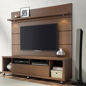 """Aghasi Floating Entertainment Center For Tvs Up To 60 Inside Fashionable Ahana Tv Stands For Tvs Up To 60"""" (View 7 of 15)"""