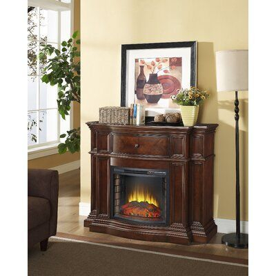"""Alcott Hill Rubalcava Tv Stand For Tvs Up To 50 Inches For Most Current Neilsen Tv Stands For Tvs Up To 50"""" With Fireplace Included (View 11 of 15)"""