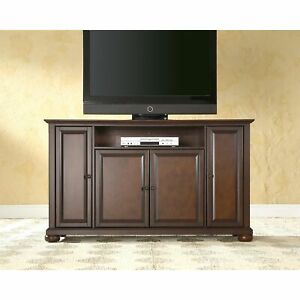 Alexandria Vintage Mahogany Wood 60 Inch Tv Stand Mahogany Pertaining To Popular Mahogany Tv Stands (View 15 of 15)