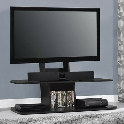 Ameriwood Home Galaxy Tv Stand With Mount For Tvs Up To 65 With Fashionable Bromley Black Wide Tv Stands (View 11 of 15)