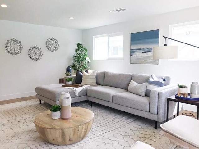 Aquarius Light Grey 2 Piece Sectional With Left Arm Facing In Aquarius Light Grey 2 Piece Sectionals With Laf Chaise (View 9 of 15)