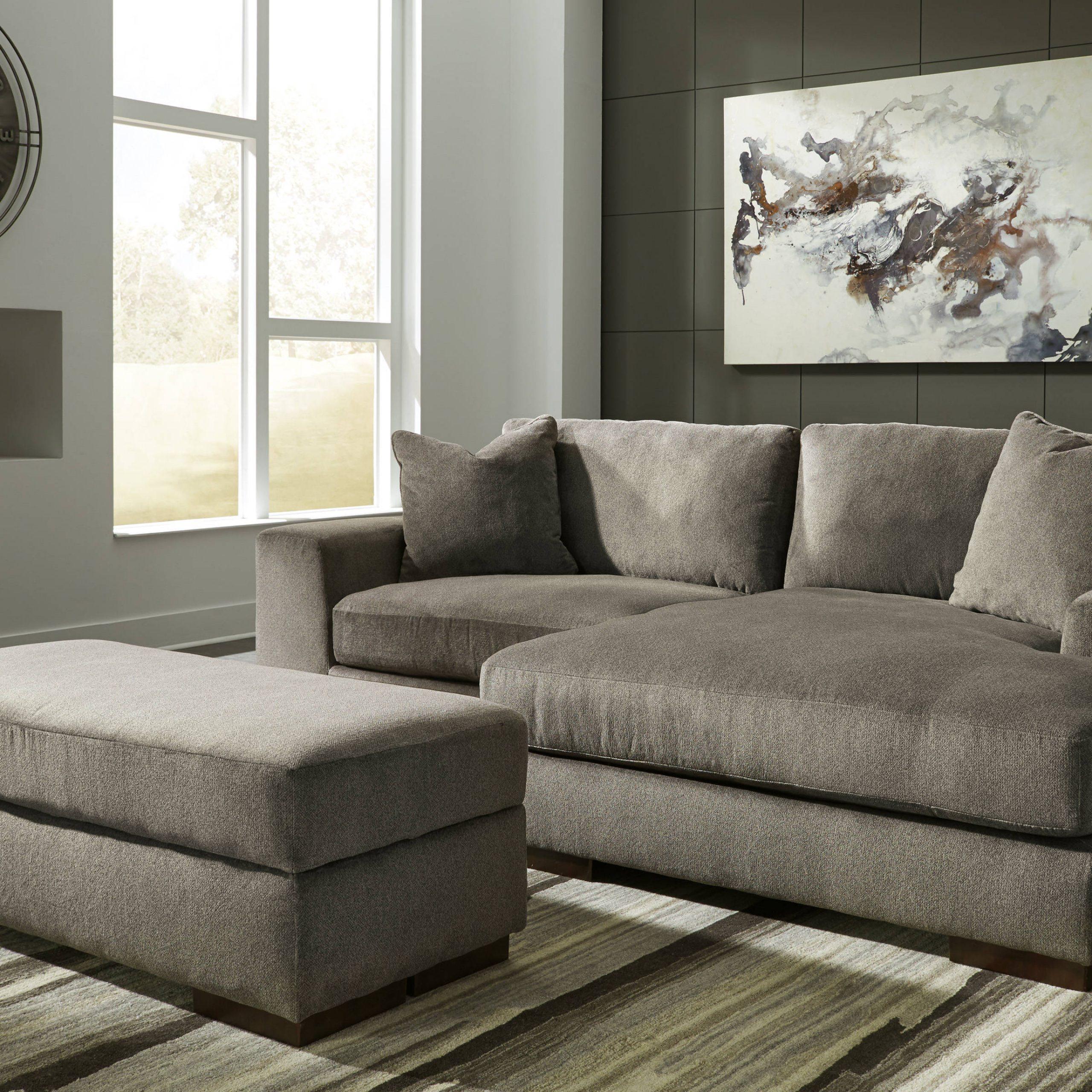 Ashley Furniture Manzani Raf Sectional With Storage Inside Sectional Sofas With Storage (View 7 of 15)