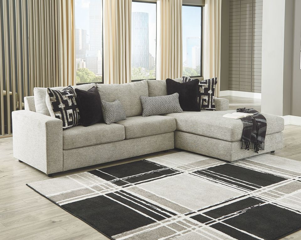 Ashley Ravenstone Flint Laf Sofa/Couch & Raf Corner Chaise Pertaining To Evan 2 Piece Sectionals With Raf Chaise (View 3 of 15)