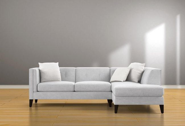 Avery Ii 2 Piece Sectional With Right Facing Armless Regarding Avery 2 Piece Sectionals With Laf Armless Chaise (View 9 of 15)