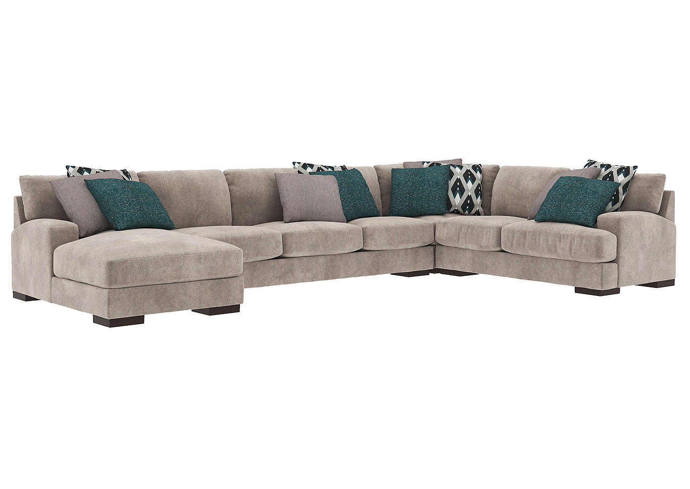 Bardarson 4 Piece Sectional Ashley Furniture Homestore Throughout Benton 4 Piece Sectionals (View 9 of 15)