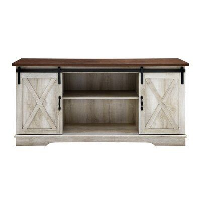 Barn With Popular Rustic Country Tv Stands In Weathered Pine Finish (View 6 of 15)