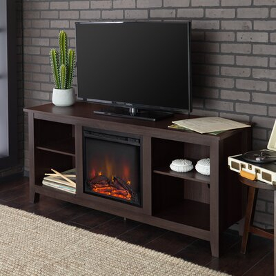"""Beachcrest Home Sunbury Tv Stand For Tvs Up To 65"""" With Throughout Recent Rickard Tv Stands For Tvs Up To 65"""" With Fireplace Included (View 2 of 15)"""