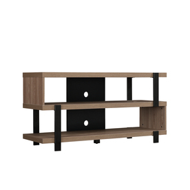 Bello Oak Harbor Oyster Walnut Rectangular Universal Tv Intended For Most Recently Released Harbor Wide Tv Stands (View 15 of 15)